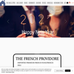$10 off Minimum $50 Spend + Delivery @ French Providore Store