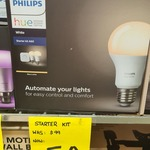 [NSW] Philips Hue A60 Starter Kit $50 @ Bunnings, Balgowlah