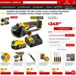 Dewalt 18V 5.0Ah Li-ion Cordless Brushless 125mm Grinder Kit $249 Delivered @ Sydney Tools