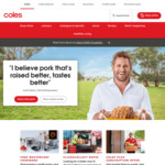[VIC] Free Delivery over $50 at Coles Online