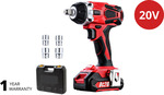 Giantz Cordless Impact Wrench 20V Lithium-Ion Battery with Charger Kit (Inc Sockets) $88 Delivered @ Direct on Sale