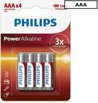 Philips AAA Alkaline Batteries 4-Pack, Philips C Alkaline Batteries 2-Pack - $1.39ea + Delivery ($0 with Club Catch) @ Catch