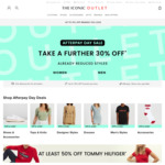 Afterpay Day Sale: Take a Further 30% off (Already up to 70% off) + $7.95 Delivery @ THE ICONIC OUTLET