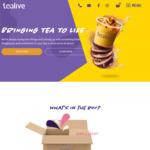 [VIC] Buy One Get One Free Bubble Tea @ Tealive via Uber Eats