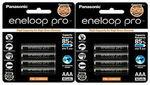 [eBay Plus, Afterpay] Panasonic Eneloop Pro 8pcs AAA $33.57 AA $39.91 Delivered @ Gbd-Online eBay