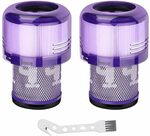 2x Vacumm Filter & 1x Brush Filter for Dyson V11, V15 Series $21.99 + Delivery ($0 Prime/ $39 Spend) @ Auloo Filters Amazon AU