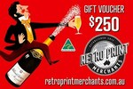 Win a $250 Retro Print Merchants Gift Voucher from Australian Made