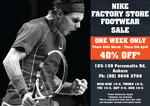Nike Factory Store 40%off All Footwear