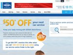 [NSW / ACT] NRMA MotorServe: SAVE $50 OFF Any General, Major or Log Book Car Service