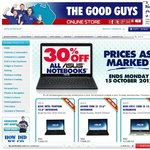 TheGoodGuys 30% off Asus Laptops eg UX32VD $909. Floorstock Only but Can Buy Online Shipping $10