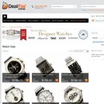 Free Shipping on Watches from Hugo Boss, D&G, Burberry and More from $99 - Free Shipping