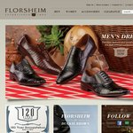 Florsheim: 30% off Full Priced Shoes, 50% off Full Priced Ladies Handbags + Free Shipping