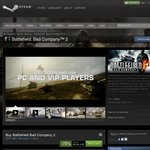 Battlefield: Bad Company 2 - 75% off on Steam USD $4.99