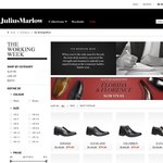 [Click Frenzy] Julius Marlow All Shoes $75 (Plus Save Extra $10 for Signing up to Newsletter)