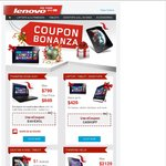 Lenovo Coupon Bonanza Save up to $420
