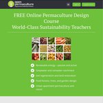 Free Permaculture Online Training Course - over 50 1 Hour Lectures