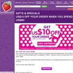 US$10 off StrawberryNET Perfume, Makeup, etc