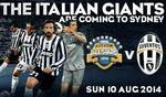 A-League All Stars vs. Juventus Tickets @ ANZ Stadium, 10th August 2014 - Category A - $99.50+bf