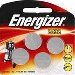 Energizer CR2032 3V 4 Pack Batteries $8.99 @ Chemist Warehouse
