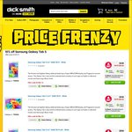 Samsung Galaxy Tab S 8.4 Wi-Fi Bronze ($391) or White ($389) + $5.95 Delivery after Code @ Dick Smith