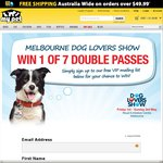 Win 1 of 7 Double Passes to The Dog Lovers Show in Melbourne