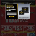 Dick Smith 15% off Limited to 300 Customers