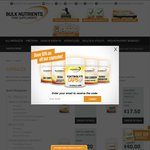 10% off Capsule Products @ Bulk Nutrients