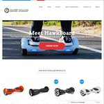 HawkBoard Mini-Segway from $636.65, Including Free Express Shipping