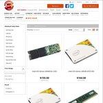Kingston 8GB RAM DDR3 $46.95, DDR4 $56.95, Intel 535 SSD 240GB $129, 480GB $239 Delivered @ Shopping Express