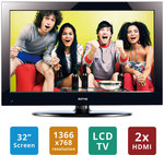 """Soniq 32"""" HD LCD TV (REFURBISHED) for $149 Plus Many Other TV Deals"""