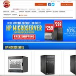 HP Microserver G1610T $259 + WD Red & Purple HDD Combo Deals, Buy Any 2 for Free Shipping @ Shopping Express
