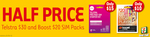 1/2 Price: Boost $20 Sim Pack for $10 or Telstra $30 Sim Pack for $15 @ 7-Eleven