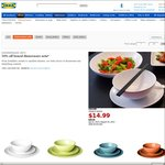 IKEA - 50% off All Boxed Dinnerware Sets, $14.99 for 18-Piece Set (Excludes SA & WA)