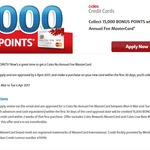 Coles No Annual Fee Mastercard - 15000 Bonus FlyBuys Points (FlyBuys Members)