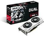 Asus RX 480 4GB Dual OC Graphics Card £140.52 (~AU $226) Delivered @ Amazon UK