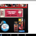 1 Free Rental @ Video Ezy Kiosk (4/5/17)