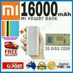 Xiaomi 16000mAh External Power Bank Li-Ion Battery Charger 5V/3.6a + Free Case $37.91 Delivered @ Accessories River eBay