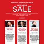 Up to 73% off* Melbourne Symphony Orchestra: Any Three Concerts $129 ($43/performance) - Any Available Seats