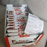 Kinder Bueno 3 Packs for $3 at Australia Post East Vic Park WA