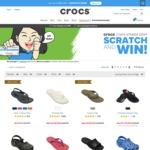 $40 off $80+@Crocs (Including Clearance) with Code. Free Shipping over $50