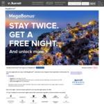 Marriott Rewards Megabonus 1 Free Night at Cat 1-5 Hotels after 2 Stays