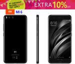 Xiaomi Mi 6 Snapdragon 835/6GB Ram Global Version $485.96 Delivered Melbourne Stock @ Gearbite eBay