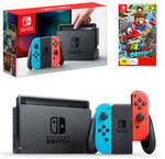 Nintendo Switch Bundles: Mario Odyssey, Mario Kart 8 or Splatoon 2 $439.16 | Zelda $446.96 Delivered @ Gamesmen eBay