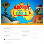 Win 1 of 5 $10,000 Cash Prizes from Nine Network