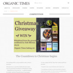 Win 1 of 2 CookBook and Pantry Staples Hampers from Organic Times