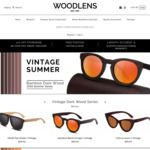New Year Flash Sale - 50% off All Handmade Bamboo Sunglasses @Woodlens.com.au