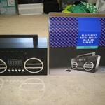 Bluetooth Retro Ghetto Blaster Speaker/Radio 5wx2 $10 In store @ Kmart (Originally $39) Auswide.