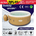 Bestway Palm Springs Inflatable Hot Tub / Spa - Large Size (196x71cm, 963L) - $575 Delivered @ Outbax Camping on eBay