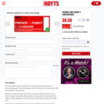 HOYTS Friends and Family Offer - $8.50 Standard, $25 LUX