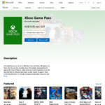 Xbox Game Pass - $5.48 Per Month (Stackable) @ Microsoft Store